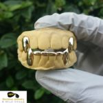 gold teeth bridge