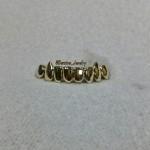 Custom Gold Fang Grillz